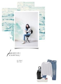 """ˈk a ʒ j ʊ ə l - 0 3 8 -"" by hey-anna ❤ liked on Polyvore featuring Marc by Marc Jacobs, Acne Studios, James Perse and Isabel Marant"