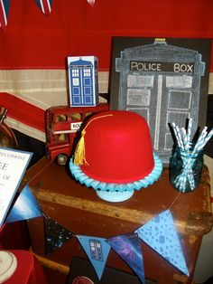 Incredible Dr. Who birthday party! See more party ideas at CatchMyParty.com!