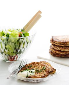 Low-Carb Cauliflower Hash Browns - Diet Doctor