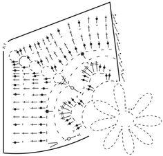 Amanecer - DROPS Cotton Merino lõngast heegeldatud lillemotiividega ruutudega tekk - Free pattern by DROPS Design
