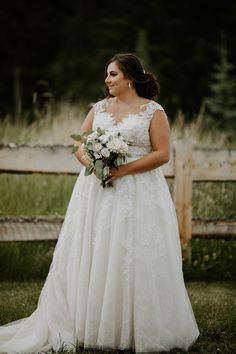 Beautiful romantic lace wedding dress, perfect for a summer country wedding. This bride paired it with a soft blush bouquet. To see more of this wedding visit Teller of Tales Photography. Summer Wedding, Lace Wedding, Wedding Dresses, Blush Bouquet, Romantic Lace, Dress Ideas, Weddingideas, Brides, Wedding Inspiration