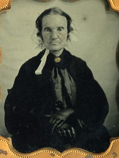 an elderly widow 6th plate ambrotype | Flickr - Photo Sharing!