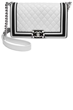 aa14582aa4df Discover your new favorite black and white high contrast accessories here,  like this timeless Chanel