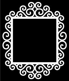 Swirly Frames 3 & 4