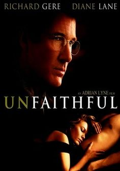 Unfaithful (2002) Diane Lane stars as Connie, a wife and mother whose 11-year marriage to Edward (Richard Gere) has lost its sexual spark. When Connie literally runs into handsome book collector Paul (Olivier Martinez), he sweeps her into an all-consuming affair. But Edward soon becomes suspicious and decides to confront the other man in this erotic thriller from director Adrian Lyne (Fatal Attraction, Indecent Proposal).