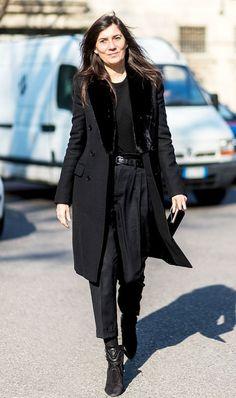 the power dressing of Emmanuelle Alt