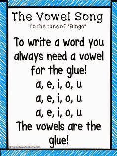 Vowels are Glue! Practicing our CVC Words