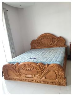 Latest Wooden Bed Designs, Wooden Sofa Designs, Wood Design, Design Design, Wooden Bedroom, Bedroom Furniture Design, Bed Furniture, Wooden Furniture, Furniture Online