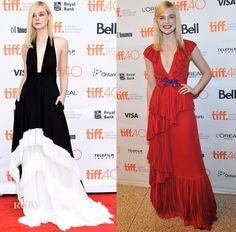 Elle Fanning In Emilio Pucci & Gucci -  'About Ray' & 'Trumbo' Toronto Film Festival Premiere