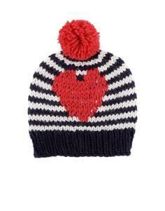 Love Hearts Hat by Wool and the Gang #blackfridaygang