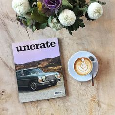 Good morning Tuesday! After the wonderful #indiemagday on Sunday we needed to rest for a day. But now its time for the next magazine: Uncrate Magazine  Issue 2. Uncrate is filled with some of the worlds best gear apparel and automobiles for men. For Issue 02 they flew down to Cuba to do some long-awaited exploring gathering all of the cigars and rum the island has to offer. They then returned stateside and dug up even more. In Southern California they visited the garage-oasis of Mercedes…
