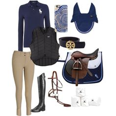 Equine Addiction by hall-ash on Polyvore featuring polyvore, fashion, style, Polo Ralph Lauren, Tory Burch and Casetify