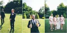 Jen & Andy | Birmingham, England Wedding. lawn games at Highbury Hall. Daniel Lateulade Photography