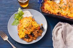 Make and share this Tamale Pie recipe from Genius Kitchen. Easy Casserole Recipes, Pie Recipes, Mexican Food Recipes, Cooking Recipes, Slow Cooking, Ground Beef Recipes For Dinner, Dinner With Ground Beef, Dinner Recipes, Parsley Recipes