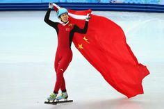 China has entered the medal table at the Sochi Winter Olympics, with skater Han Tianyu winning a silver medal in the short-track 1,500 meters on Monday.