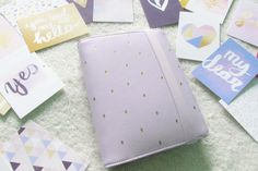 my medium lilac kikki k time planner set up « ariestrash