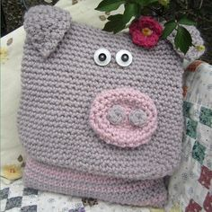 Primrose the Pig Pillow, pattern for purchase