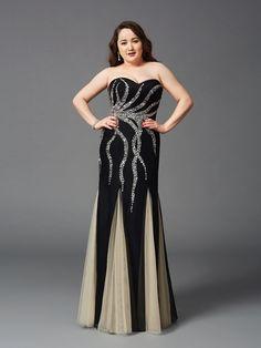 2017 Plus Size Long Prom Dresses!