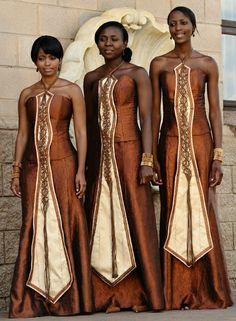 Traditional African Wedding Dresses   God's Grace Weddings