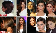 CHERYL'S POSH HAIRDO... has she copied it from her old rival?