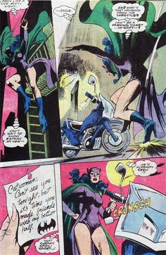 This is how Batman and Catwoman date.     —Detective Comics #560