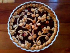 Apple & Blackberry Pie / recipe