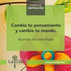 ¡¡Cambiemos mundos!! | Facebook: https://www.facebook.com/lacler.mx/ | #arte #frases #quotes #lunes #inspiración #exito