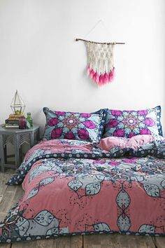 Magical Thinking Astra Medallion Comforter - Purple Full/queen from Urban Outfitters. Saved to Epic Wishlist. Dream Rooms, Dream Bedroom, Online Interior Design Services, Urban Outfitters, My Room, Room Inspiration, Magical Thinking, Bedding Sets, Comforters