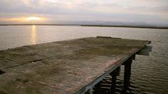 El Estero de Punta Banda al amanecer, #Ensenada, #Baja California, México. Foto por @mundo16