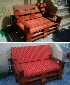 Pallet Couch So Easy Looks Amazing Wood Pallets Recycled