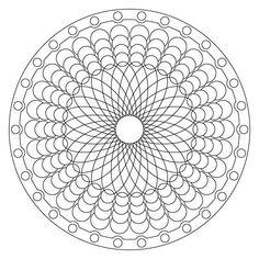 32 coloriage Mandala – imprimer vol 6241 | Revue de Modes
