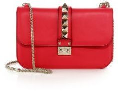 Valentino Rockstud Lock Medium Shoulder Bag - $2,345.00