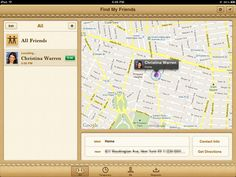 Find My Friends-The app that we will use to track the participants on their journey giving us hints as to when they will need clues.