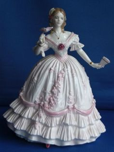 """Limited Edition Large Royal Worcester """"The Masquerade Begins"""" RW4507 Figurine 