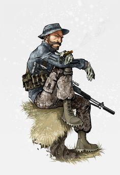 Capt. Price - Call of Duty - Kira-Mayer.deviantart.com