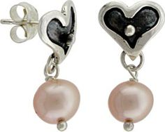 You can make these cute heart earrings in just a few minutes! Plenty of time to get started before Vaentines Day. Visit http://www.ninadesigns.com/jewelry_design_ideas/heart_earring_findings.html for a complete parts list & supplies.