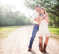 texas style cowgirl boots | By Maggie Lord In: Engagement Sessions , Rustic Country Wedding ...