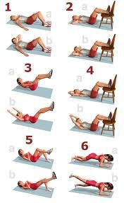 Six Pack Abs For Bodybuilding & Fitness Fitness Workouts, Fitness Del Yoga, At Home Workouts, Fitness Motivation, Health Fitness, Fitness Abs, Tuesday Motivation, Workout Tips, Lose 20 Pounds