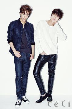 2014.04, CeCi, B1A4, Gongchan, Jinyoung