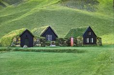 Icelandic turf houses are old-school green with a Viking twist (photos) http://www.treehugger.com/slideshows/green-architecture/8-icelandic-turf-houses-old-school-green-Viking-twist/page/8/