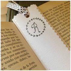 Monogram Bookmarks