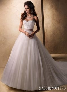 A fairytale ballgown for the timeless romantic... Taleigha.