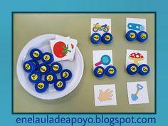EN EL AULA DE APOYO: FORMA PALABRAS Spanish Activities, Language Activities, Activities For Kids, Craft Presents, Presents For Teachers, Jolly Phonics, School Items, Learning Letters, School Psychology