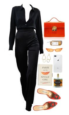 """the 10th"" by millicent4 ❤ liked on Polyvore featuring Manolo Blahnik, Rubeus, Kate Spade and Outremer"