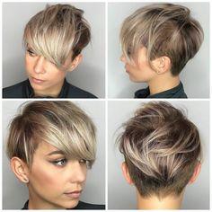 9 個讚,3 則留言 - Instagram 上的 Short hair isn't just for boys(@hashtagpixiecuts):「 #pixiecuts Thanks @sarah_louwho hair by @thisgirlmichele 」