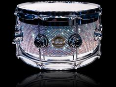 this is everything I thought a snare drum could be plus crystals