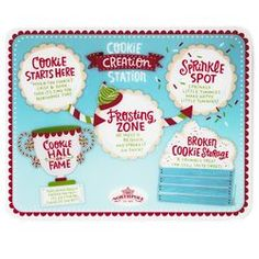 Cookie Creation Station Activity Mat,