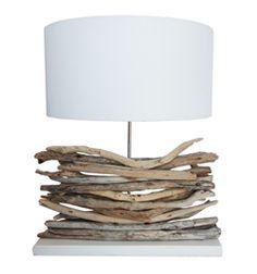 Driftwood lamp - Echobay Trading