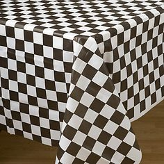 Sock Hop table cloth for 50's party