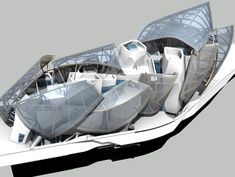 Icebergs - Louis Vuitton Foundation - Fantastische 3D modellen, gemaakt met Tekla BIM software - Tekla BIM Awards